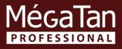 logo megatan-s pozadím
